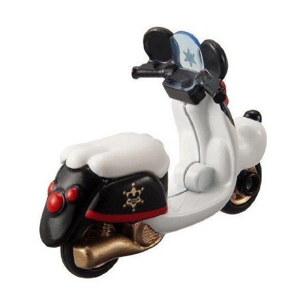 【Fun心玩】DM-04 DS46357 麗嬰 TOMICA 夢幻 米奇 警察機車 摩托車 迪士尼 多美小汽車 禮物