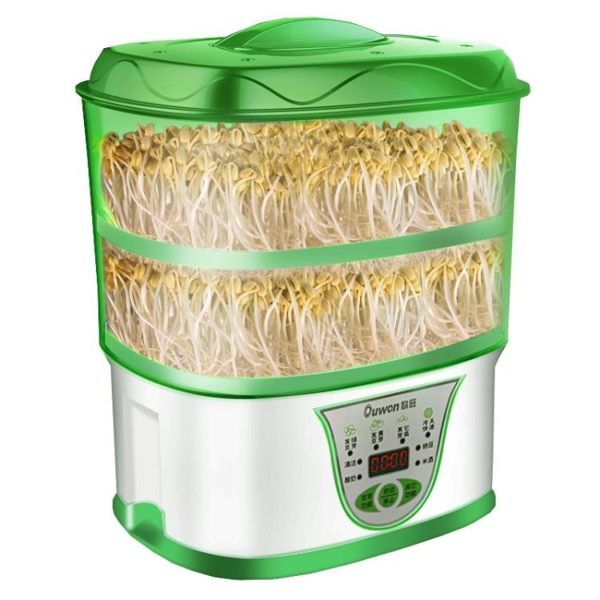 豆芽機 家用全自動智能多功能雙層大容量生芽發芽機 黃豆綠豆機