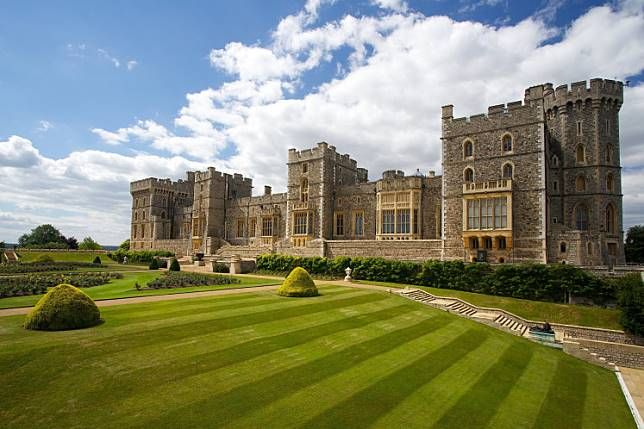 Windsor castle near London, United Kingdom