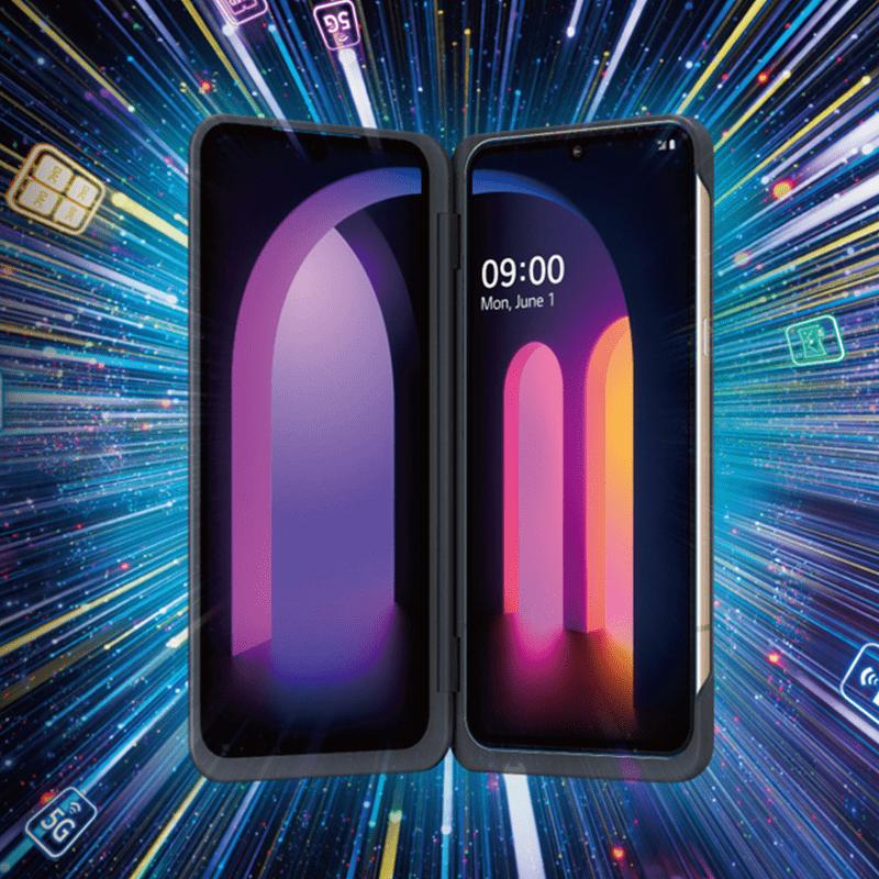 LG V60雙螢幕手機256GB,大螢幕讓你使用更盡興,IP68 防水防塵等級,讓你輕鬆外出,全新升級處理器,更加快速順暢,輕鬆迎接5G時代,5,000mAh 大電量,不管看影片、玩遊戲,都給你最好的