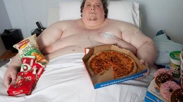 世界最胖男子享年44歲 體重曾重達444公斤