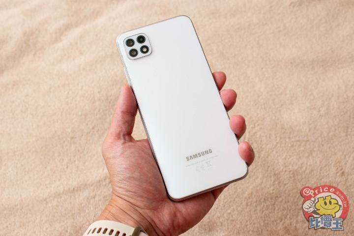 三星最入門 5G 機 Galaxy A22 5G 試用報告