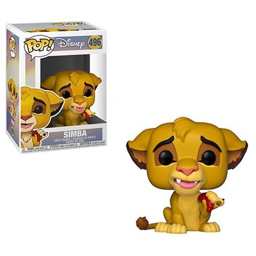 【 Funko 】 POP!系列 Q版公仔 迪士尼 獅子王 - 辛巴╭★ JOYBUS玩具百貨