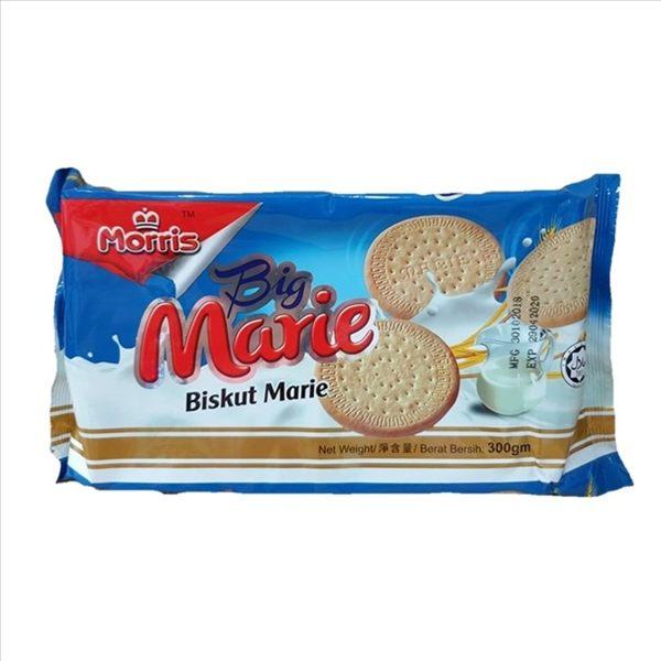 厚毅牛奶早餐餅 300g【9556466211289】(馬來西亞零食)