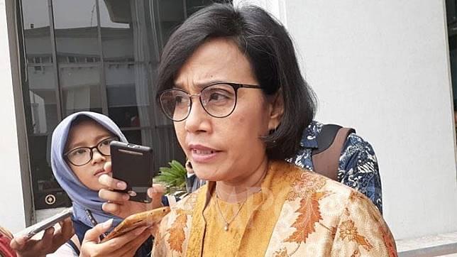 Menteri Keuangan Sri Mulyani menghadiri pelantikan anggota BPK di Gedung Mahkamah Agung, Jakarta Pusat, Kamis, 16 Oktober 2019. TEMPO/Francisca Christy Rosana