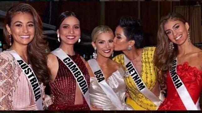Peserta Miss Universe 2019   Instagram @grandslambeautyalliance
