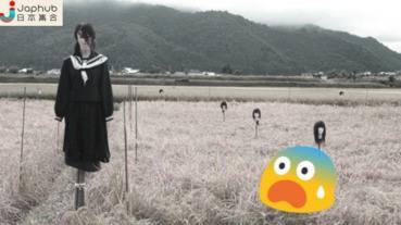日光日白都撞鬼 農田稻草人逼真到嚇死人!