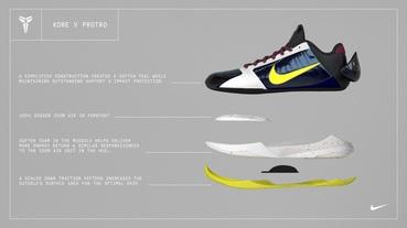 新聞分享 / 分解圖秀給你看 Nike Kobe V Protro 配置公開