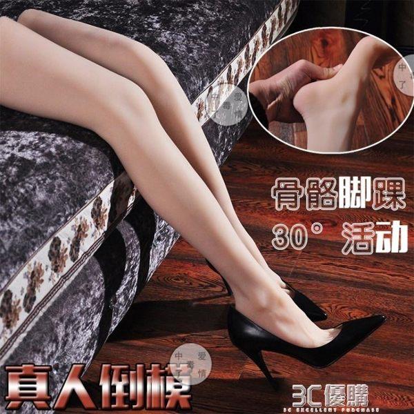 腳踝骨骼版倒模仿真大腿部模型拍攝展示道具足療繪畫教學絲襪