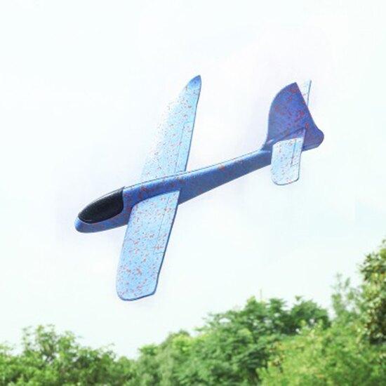手拋飛機 EPP飛機 保麗龍飛機 玩具 兒童 泡沫 戶外 滑翔 飛機 迴旋 模型 投擲 航模 禮物 手拋特技滑翔飛機(小) ♚MY COLOR♚【L025-1】