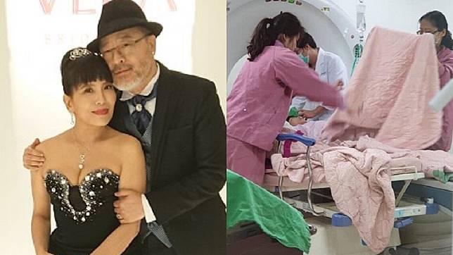 班鐵翔妻子Celine去年底因服藥輕生送醫獲救,圖為資料照。(圖/固力狗娛樂提供、翻攝自班鐵翔臉書)