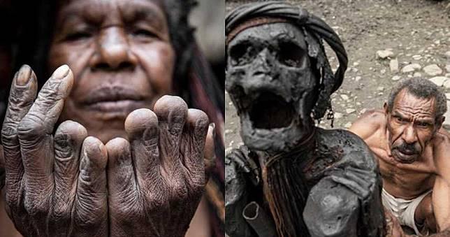 女人喪親斷指、每日烤木乃伊!攝影師親訪神秘「食人族部落」
