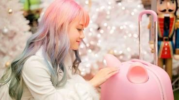 女生們看到必定大叫可愛的 Pastel 貓耳行李箱,未推出已令人相當期待!