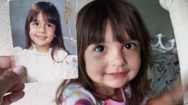 這群父母親翻出了幾十年前與小孩同年齡時所拍的照片 證明了基因的強大威力...