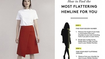 如何讓你的腿看起來長又細?裙子的長度很重要!