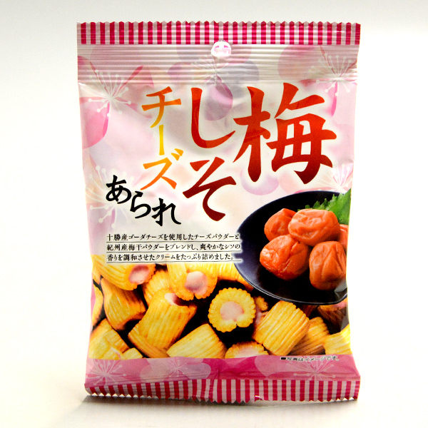 日本進口米果捲 鹹鹹米果搭配不同口味,蹦出新滋味!