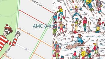 愚人節限定!Google 地圖上可以玩「威利在哪裡」 快一起來挑戰 5 大關卡!