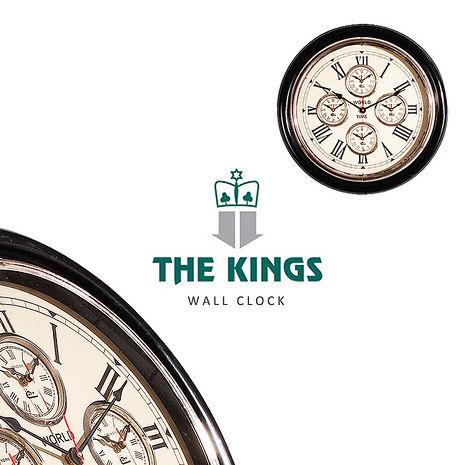 【THE KINGS】Time Genie世界時鐘復古工業時鐘