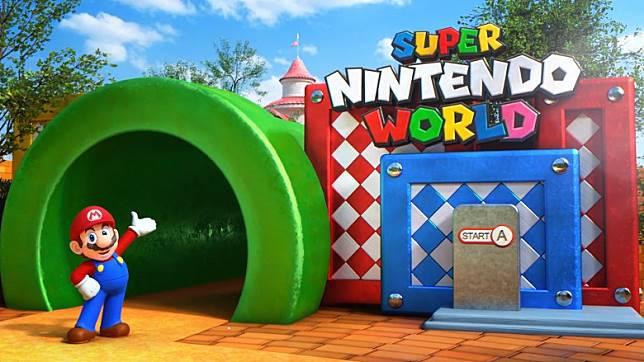 大阪「超任世界」是全球首座任天堂專屬樂園,超任人氣角色「瑪利奧」當然是主角啦。(互聯網)