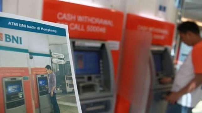 Ilustrasiu: ATM BNI. (Antara/HO)