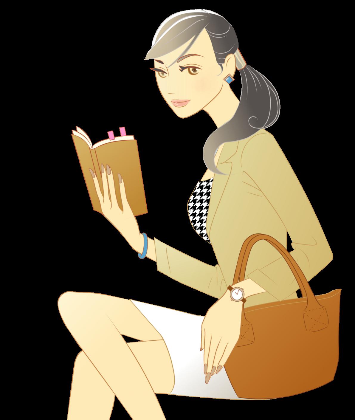 イラストボックス - ビジネスウーマン/働く女性のイラスト無料素材