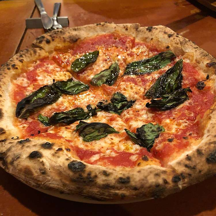 ユーザーが投稿したピッツァ マルゲリータの写真 - 実際訪問したユーザーが直接撮影して投稿した神楽坂イタリアンカリーナ カリーナの写真