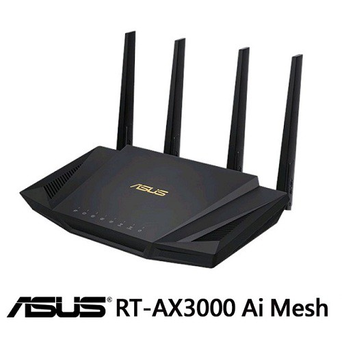 次世代 Wi-Fi 6 標準 -支援最新 Wi-Fi 標準 802.11AX (Wi-Fi 6) 和 160MHz 頻寬,可發揮更出色的功能與效率。超快 Wi-Fi 網速 -RT-AX3000 支援