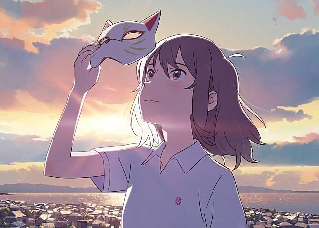 A Whisker Away merupakan sebuah film animasi original Netflix Jepang yang baru saja dirilis pada bulan Juni lalu