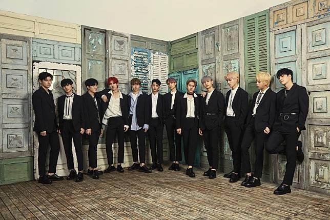 N.CUS近日在社交網公開預告照,但被發現與Wanna One最後一張專輯的封面極為相似。