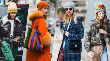 寒流預報:穿著禦寒衣並不足夠!你的頭頂還欠一頂時尚 Beanies