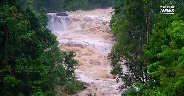 ฝนตกหนักบนเทือกเขาบรรทัด จ.พัทลุง น้ำป่าหลากท่วมบ้านเรือนประชาชน