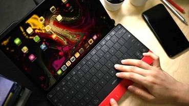Mokibo無線2合1鍵盤藏玄機,實體按鍵竟然也是觸控板