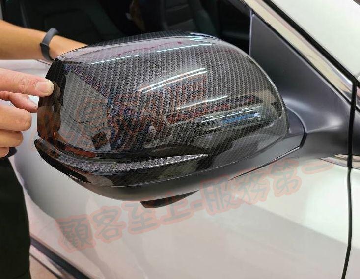 (小鳥的店)本田 2020-2021 CR-V5 CRV 5.5代 後視鏡蓋 照後鏡飾蓋 碳纖 水轉 卡夢 外加黏貼式