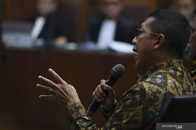 Hakim sebut Lukman Hakim Saifuddin terima Rp70 juta
