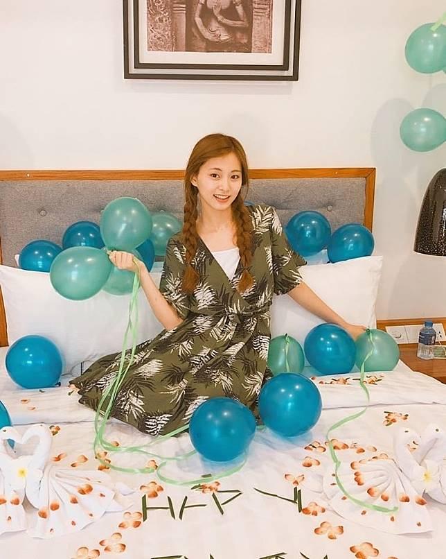 周子瑜昨日迎來20歲生辰。