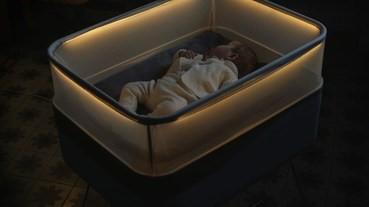 搖搖下最好瞓 Ford推智能BB床模擬汽車環境