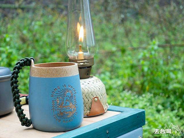 竹品輕巧,環保,很適合戶外活動使用。家宏說竹林是最好的禪修之地,生活本該如此美好。