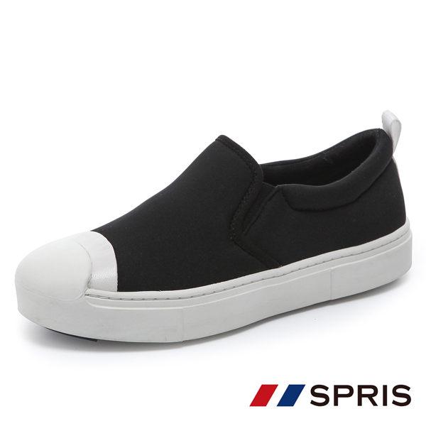 周子瑜 TWICE x 韓國 SPRIS 聯名鞋款 Sleepy Neo 懶人鞋系列 - 經典黑 小黑鞋 平底鞋 帆布鞋