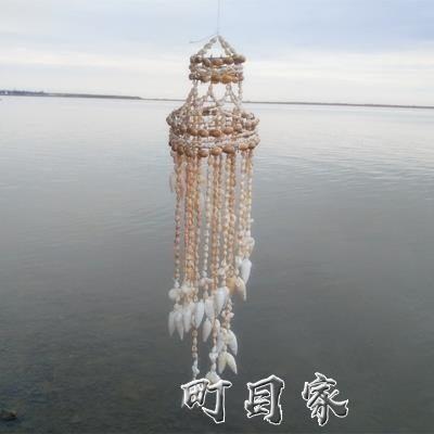 天然海螺貝殼風鈴創意風鈴掛飾旅游區紀念品創意禮品旅游景點紀念 町目家