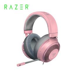 雷蛇Razer Kraken Quartz 北海巨妖粉晶版 電競耳機麥克風