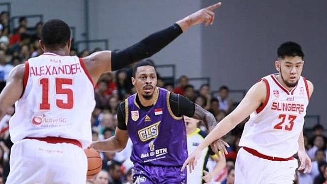 Singapore Slingers Vs CLS Knights Indonesia