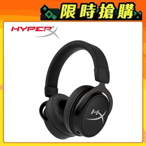 【HyperX】Cloud MIX 無線電競耳機 +藍牙(HX-HSCAM-GM)【三井3C】。人氣店家SANJING三井3C的鍵盤/滑鼠/耳機快選區、電競耳機/耳麥有最棒的商品。快到日本NO.1的R