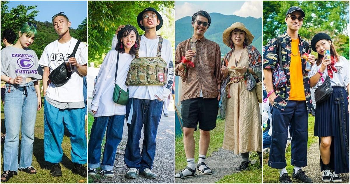 『日本戶外音樂祭型人特搜』你準備好今年的音樂祭造型了嗎?