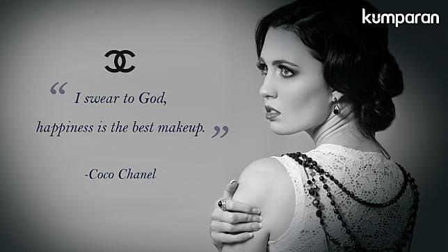 quotes kecantikan coco chanel yang membekas di hati