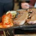 得得ランチセット-サンギョプサル - 実際訪問したユーザーが直接撮影して投稿した百人町韓国料理コリアンキッチン 味ちゃん1号店の写真のメニュー情報