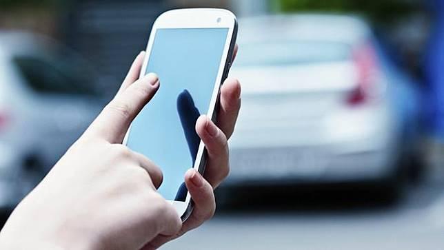 Ilustrasi ponsel