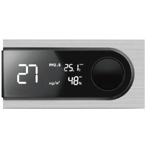 無線PM2.5溫濕度三合一感測器ZigBee,偵測室內環境溫溼度,燈號提醒偵測室內PM2.5...