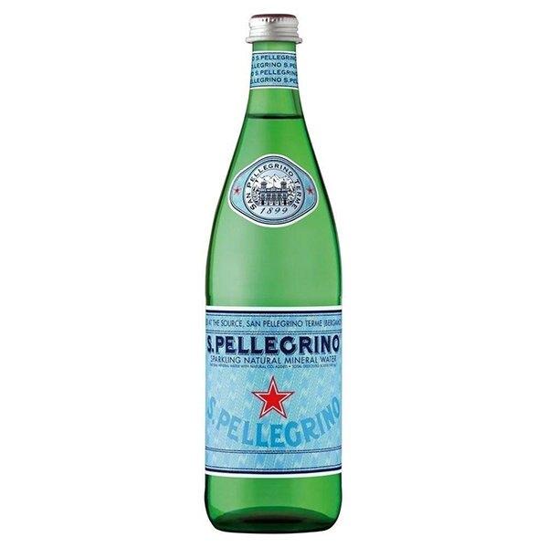 氣泡水 S.Pellegrino聖沛黎洛 天然氣泡礦泉水 1000mlx12入 義大利進口 水 礦泉水 氣泡水