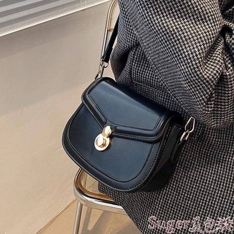復古包 復古包包質感2021新款潮網紅女包高級小眾側背包斜背包洋氣小方包