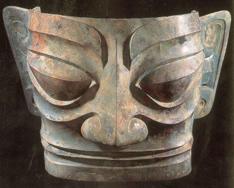 三星堆文物也是北緯30度的神秘文物,同位置還有瑪雅與古埃及文明。
